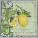 Zitronen Servietten
