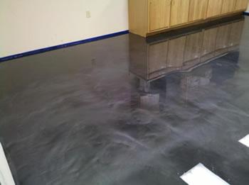 Grey Garage Aurora Epoxy Dust