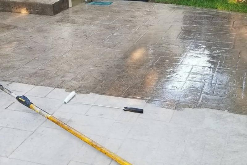 Paver Sealer and Sand Lock