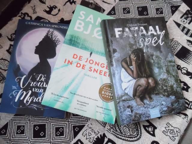 Deze 3 boeken las ik in 2019