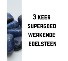 3 keer supergoed werkende edelsteen