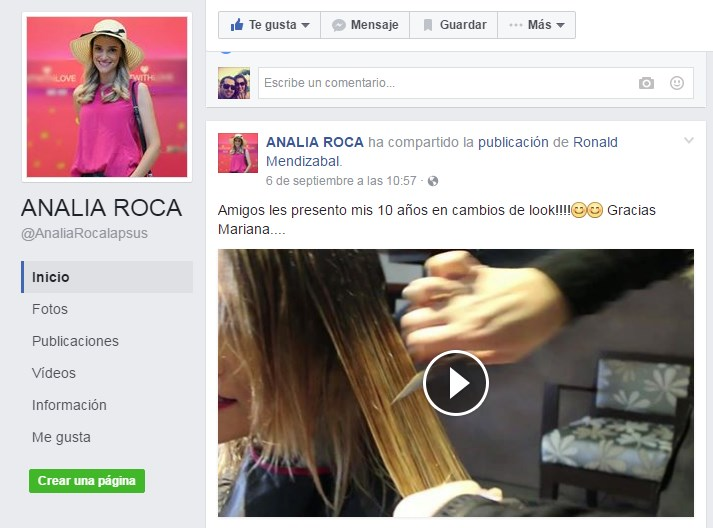 tendencias en social media analia roca
