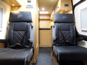 mercedes sprinter extra travelling seats