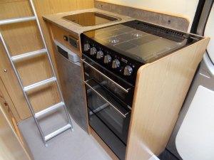 Sprinter sporthome kitchen