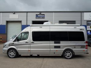 Mercedes motorhome privacy glass