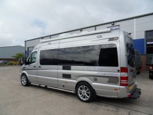 Mercedes motorhome privacy glazing