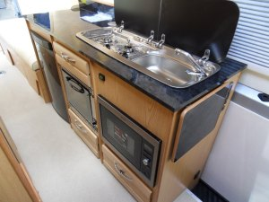 Mercedes motorhome 3 way fridge