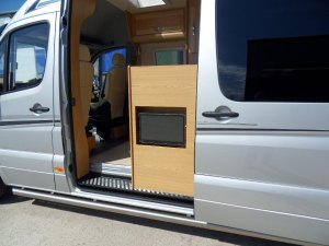 sprinter external TV