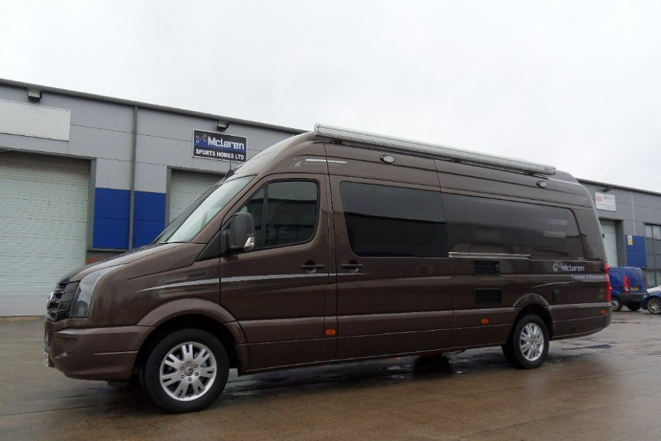 Brown VW Crafter