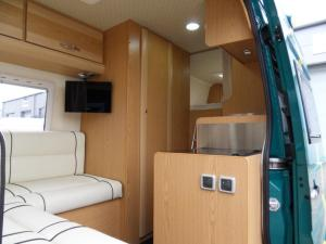 VW Crafter Sporthome interior