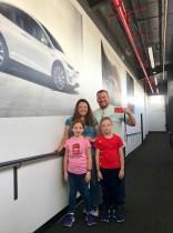 Tesla Factory Tour Family