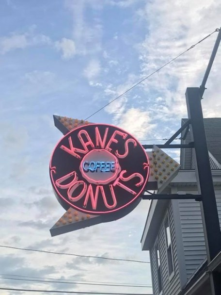 Famous Kane's Donuts Sign