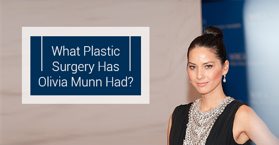 Plastic Surgery Olivia Munn Had