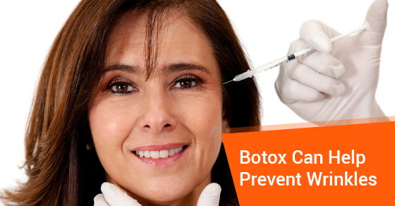 Botox Can Help Prevent Wrinkles