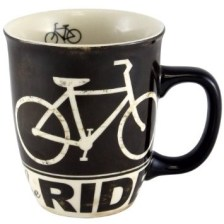 Bike coffee mug