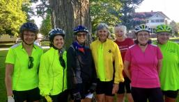 Wheeler Tour de Femmes riders
