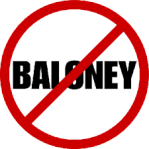 No+baloney sign