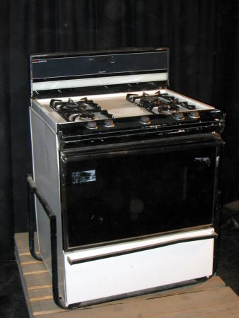 McLean Sherwood Rentals Propane Stove WElectric Oven