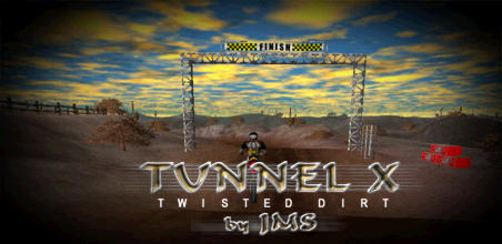 Motocross Madness 2 National Track Tunnel X