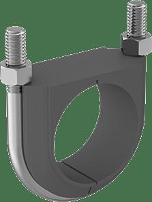 insulated marine stainless u-bolt