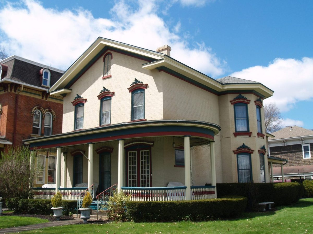 Picture of the George Custer House in Titusville, Pennsylvania