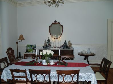 McMullen House Dining Room Christmas 2019