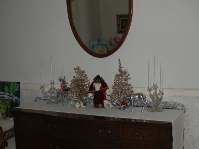 McMullen House Sideboard at Christmas 2019