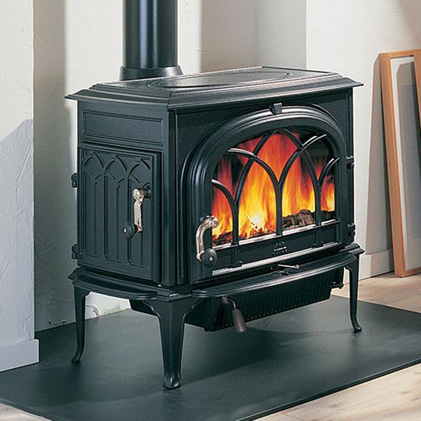 Photo showing an example of Jotul Woodstoves, the oldest and most trusted brand in the world, installed by McNamara Fireplace & Stove