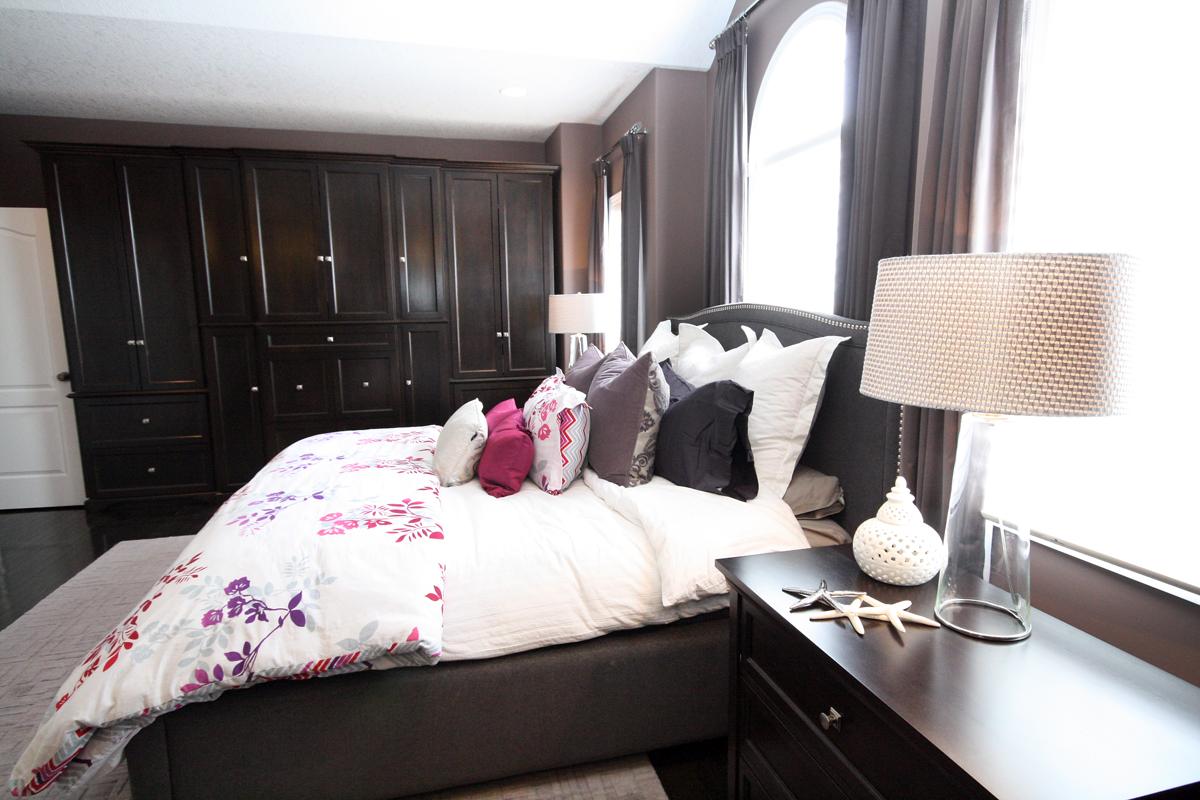 Master Bedroom with Gentleman's Armoire