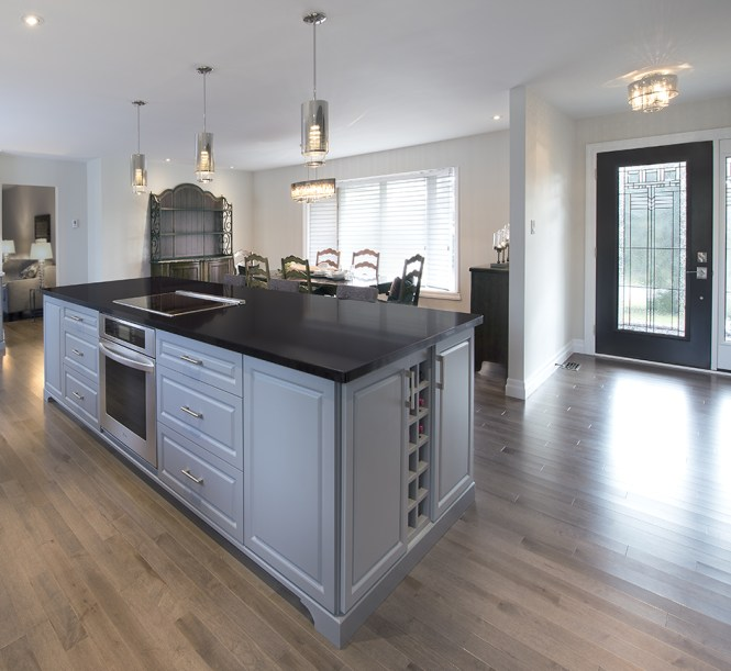 Modernized Kitchen in Caledon