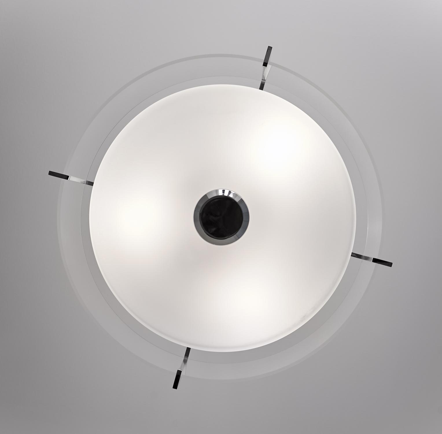 Classic Blue-Grey Bathroom Ceiling Light Fixture details