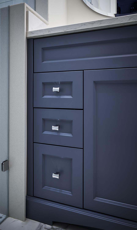 Classic Blue-Grey Vanity detail shot #2