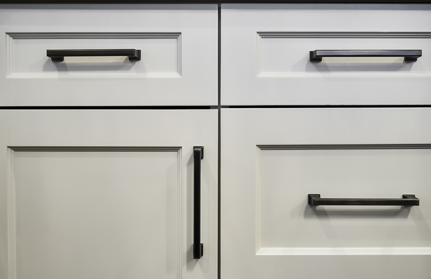 Lower Custom Cabinetry detail shot