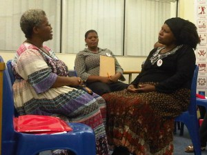 Oral history training workshop with the Rural Women's Movement