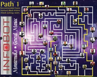 Labyrinth of Legends Complete Paths (LOL Map)