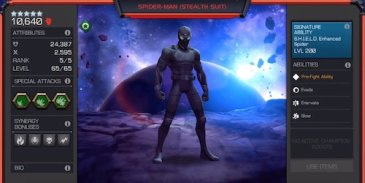 Spider-Man Stealth Suit – Champion Spotlight