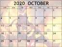 October 2020 Calendar for Contest of Champions
