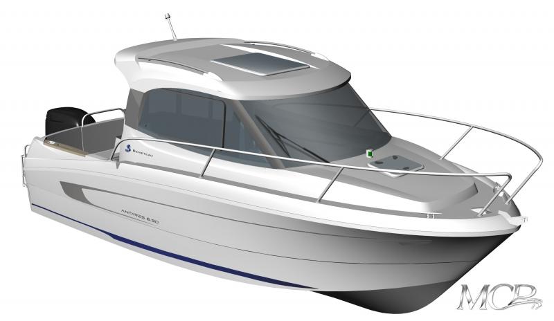 Beneteau Antares 680 HB MCP Motorboat Charter Punat