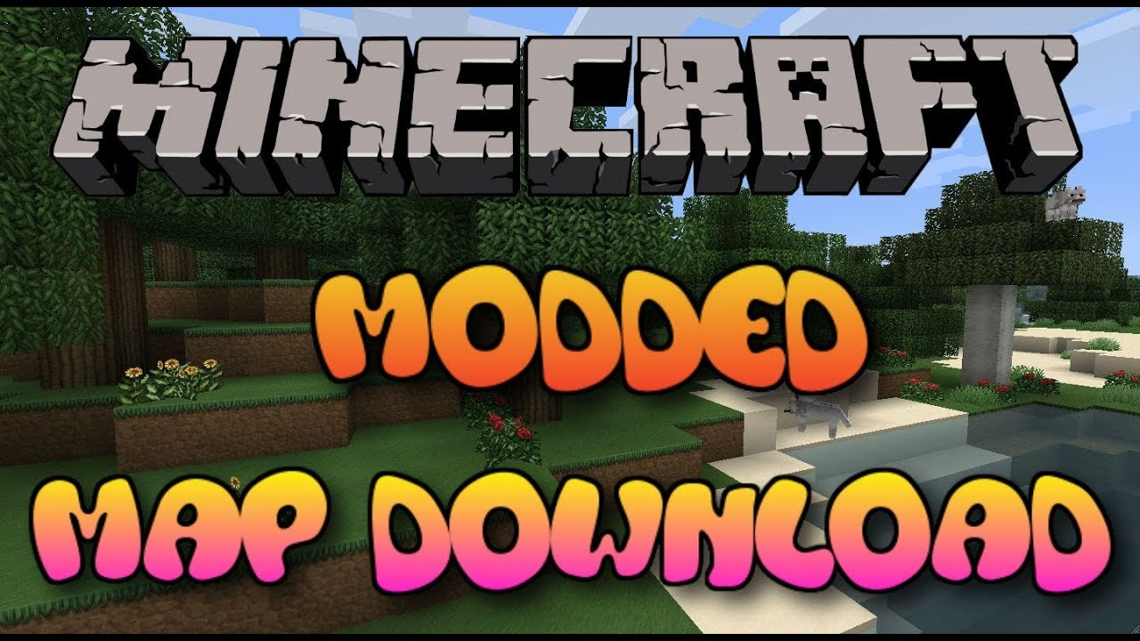 Minecraft PS3PS4 Modded Map Download