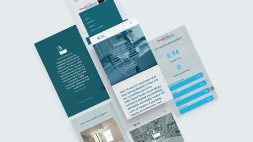 Responsive website design and build