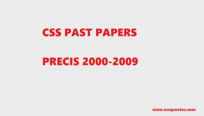 example of precis writing in english