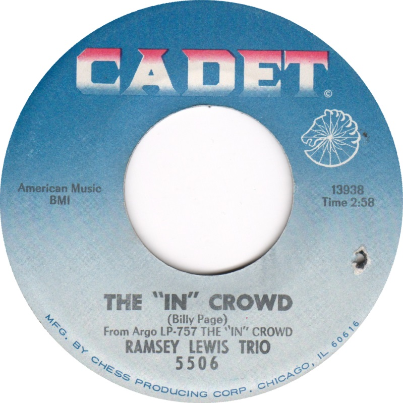 Ramsey Lewis Trio The In Crowd Travel On