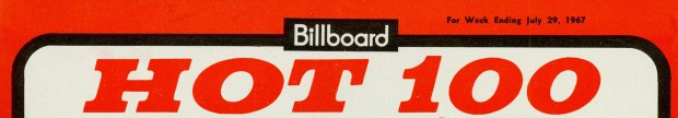 BILLBOARD Hot 100 July 29, 1967 (mcrfb) Header