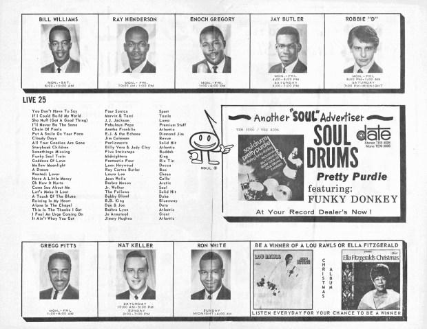 WCHB-AM December 4, 1967