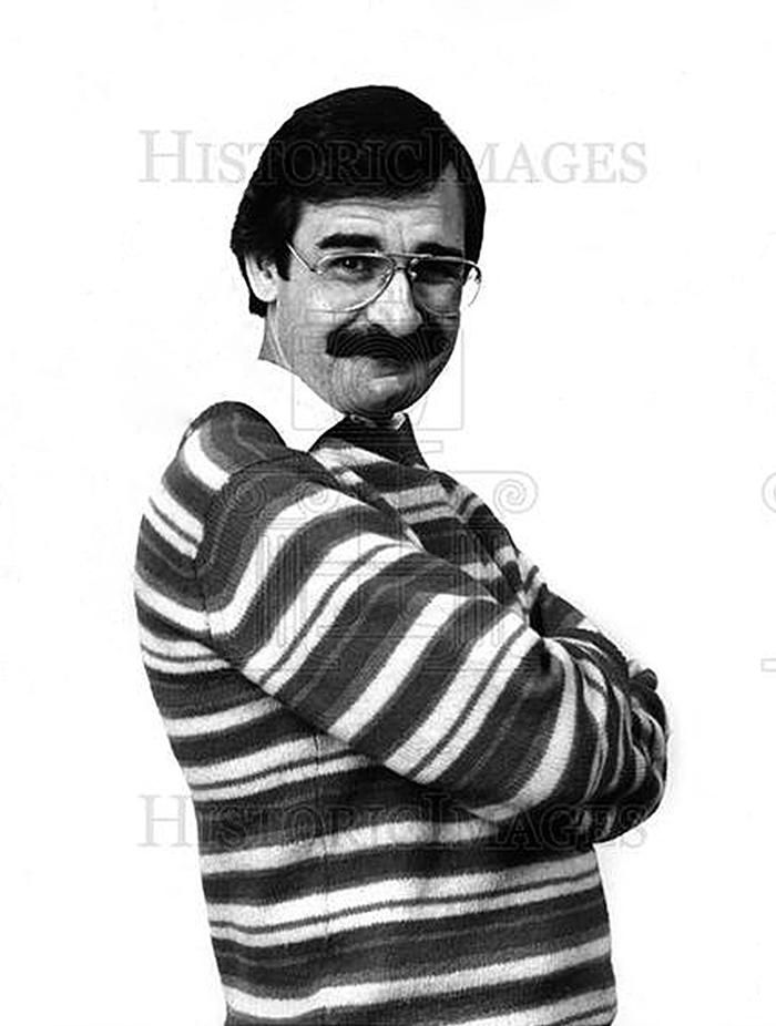 CKLW DICK PURTAN (Press Photo) 1978