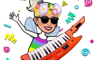 MC Fairy with a keyboard