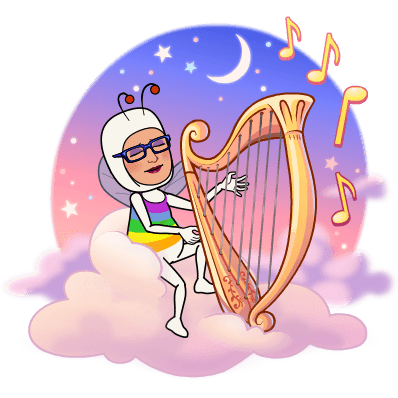 MC Fairy with a harp