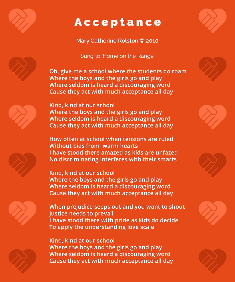 Acceptance Poem