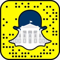 Snapchat the white house