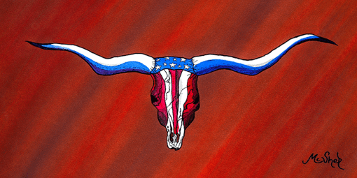 Patriotic Longhorns